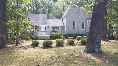 Single Family Home For Sale: 1311 Rolling Green Drive
