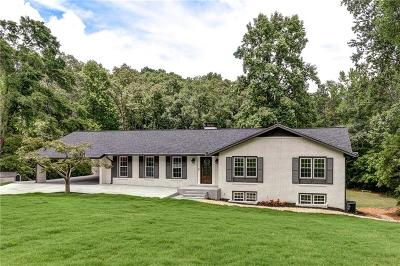 Marietta Single Family Home For Sale: 1530 Pleasant View Circle
