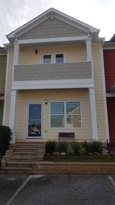 Peachtree Corners, Norcross Condo/Townhouse For Sale: 1763 Brookside Lay Circle