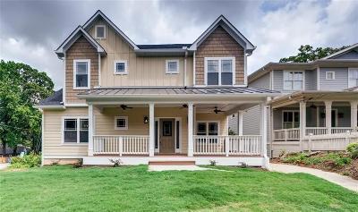 Atlanta Single Family Home For Sale: 2072 Dekalb Avenue NE