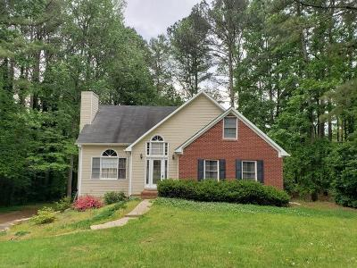 Hiram Single Family Home For Sale: 448 Lake Swan Court