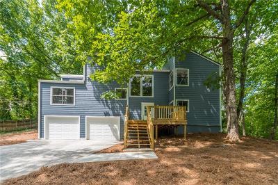 Marietta Single Family Home For Sale: 1522 Hillhaven Drive