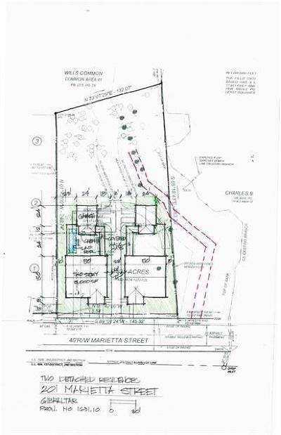 Alpharetta Residential Lots & Land For Sale: 201 Marietta Street