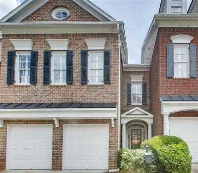 Vinings Condo/Townhouse For Sale: 4647 Ivygate Circle SE