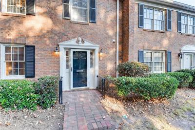 Dunwoody Condo/Townhouse For Sale: 4101 Dunwoody Club Drive #1