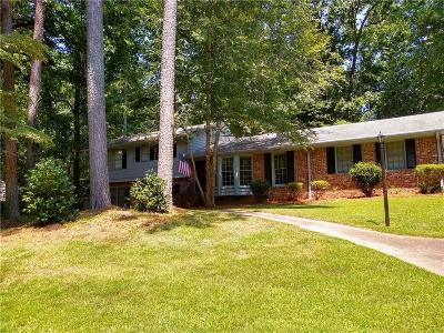 Dunwoody Single Family Home For Sale: 4469 Orleans Drive