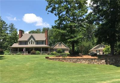 Cherokee County Single Family Home For Sale: 2195 Hickory Hill Road