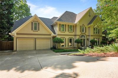 Alpharetta Single Family Home For Sale: 3830 Schooner Ridge