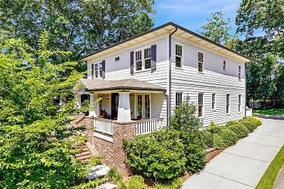 Alpharetta, Atlanta, Duluth, Dunwoody, Roswell, Sandy Springs, Suwanee, Norcross Single Family Home For Sale: 596 Sherwood Road NE