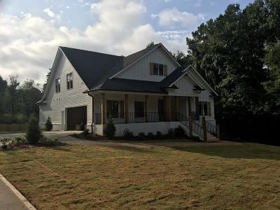 Acworth GA Single Family Home For Sale: $589,000