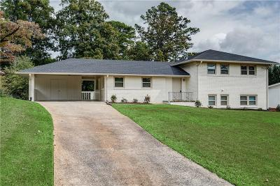 Single Family Home For Sale: 3995 Orchard Road SE