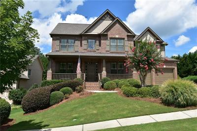 Flowery Branch Single Family Home For Sale: 7807 Benchmark Drive