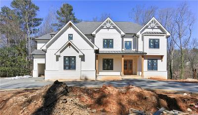 Marietta Single Family Home For Sale: 4861 Fox Run Lane SE