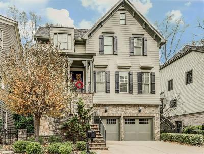 Atlanta GA Single Family Home For Sale: $850,000