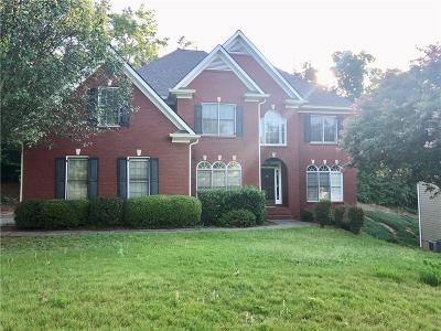 Suwanee Single Family Home For Sale: 3502 Crown Peak Court