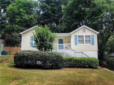 Atlanta Single Family Home For Sale: 2694 W Main Street NW