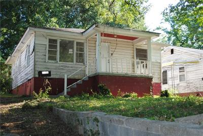 Single Family Home For Sale: 2199 Wingate Street SW