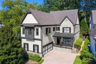 Atlanta Single Family Home For Sale: 1441 Lanier Place NE