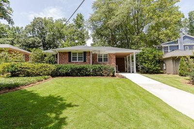 Brookhaven Single Family Home For Sale: 1865 Fairway Circle NE