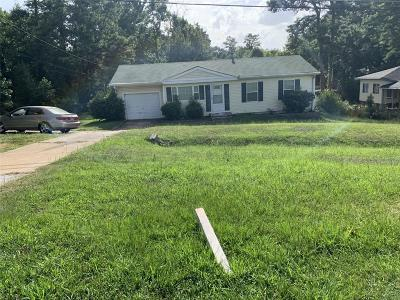 Single Family Home For Sale: 5961 Riverdale Road