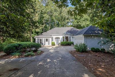 Atlanta Single Family Home For Sale: 3376 W Paces Ferry Court NW