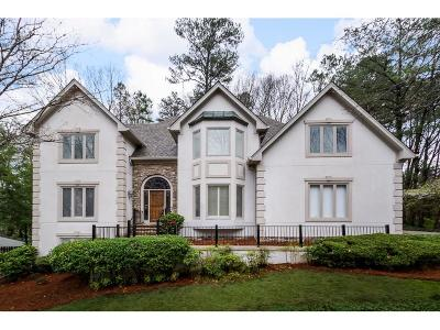 Sandy Springs Single Family Home For Sale: 6115 River Chase Circle NW