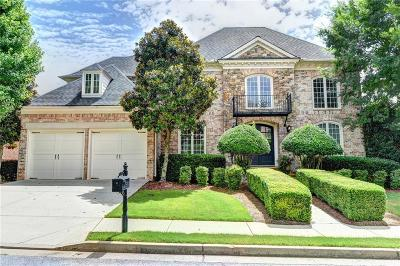 Suwanee Single Family Home For Sale: 7840 Georgetown Circle