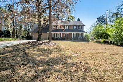 Marietta Single Family Home For Sale: 2200 Chimney Springs Drive