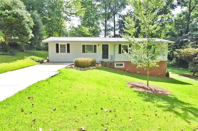 Single Family Home For Sale: 2265 Beech Valley Drive SE