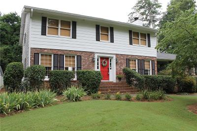Kennesaw Single Family Home For Sale: 3896 Shiloh Trail West NW