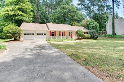 Lilburn Single Family Home For Sale: 1346 Lake Lucerne Road SW