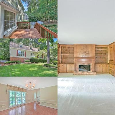 Marietta Single Family Home For Sale: 3743 Fir Court