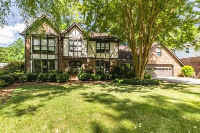 Dunwoody Single Family Home For Sale: 5372 Redfield Drive