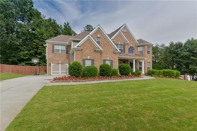 Buford Single Family Home For Sale: 3459 Lake Mill Road