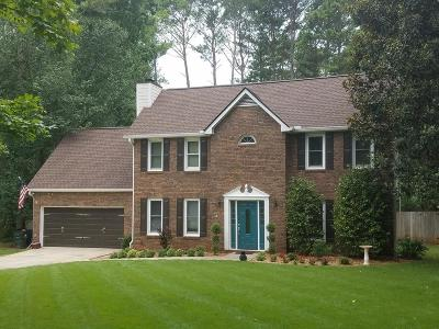 Peachtree City Single Family Home For Sale: 102 Cherry Hollow