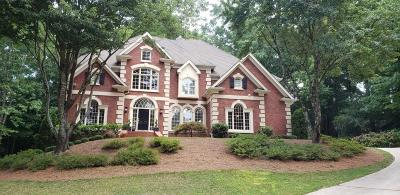 Peachtree Corners Single Family Home For Sale: 4351 River Bottom Drive