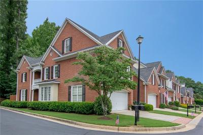 Alpharetta Condo/Townhouse For Sale: 308 Magnolia Grove