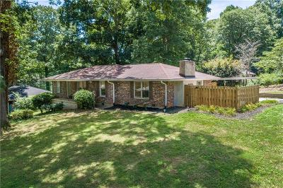 Tucker Single Family Home For Sale: 4447 Locksley Road