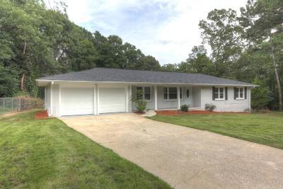 Smyrna Single Family Home For Sale: 3501 S Sherwood Drive SE