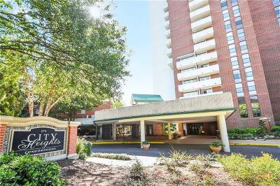 Old Fourth Ward Condo/Townhouse For Sale: 375 Ralph McGill Boulevard NE #1007