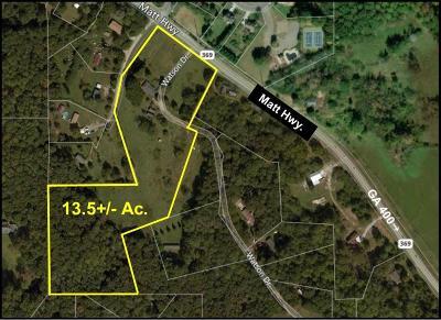 Cumming Residential Lots & Land For Sale: 4105 Matt Highway