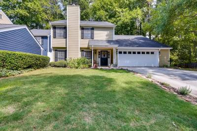Dunwoody Condo/Townhouse For Sale: 4573 Village Oaks Drive