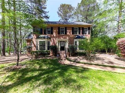 Cobb County Single Family Home For Sale: 4907 Laurel Spring Drive NE