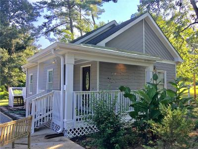 Roswell Single Family Home For Sale: 135 King Street