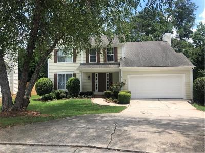 Johns Creek Single Family Home For Sale: 11800 Carriage Park Lane