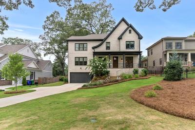 Brookhaven Single Family Home For Sale: 2608 Green Meadows Lane NE