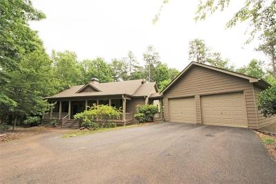 Big Canoe Single Family Home For Sale: 181 Canacaught Place