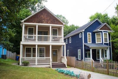 Fulton County Single Family Home For Sale: 927 Tilden Street NW