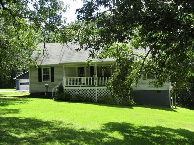 Hall County Single Family Home For Sale: 6314 Spout Springs Road