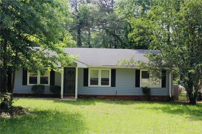Dekalb County Single Family Home For Sale: 1485 Peachcrest Court